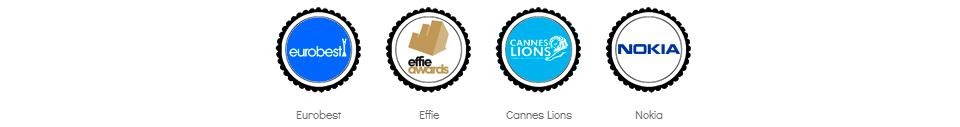 Eurobest, Effie, Cannes Lions, Nokia