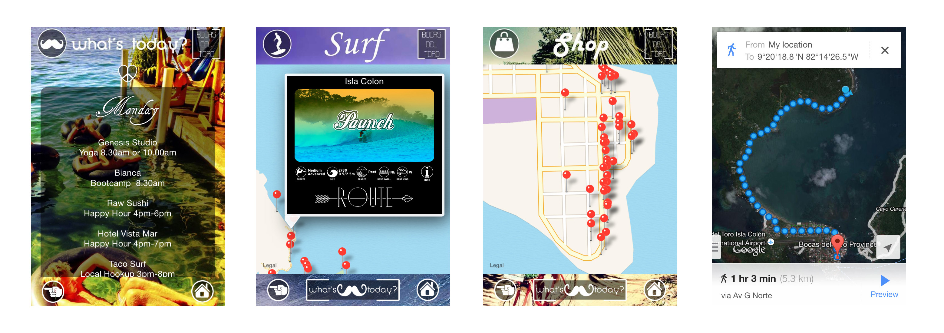 Bocas Mobi - Ruth Falquina - Estado Latente - App - Smartphone - Bocas del Toro - Panama