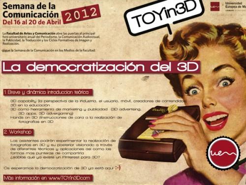 LA DEMOCRATIZACIÓN DEL 3D