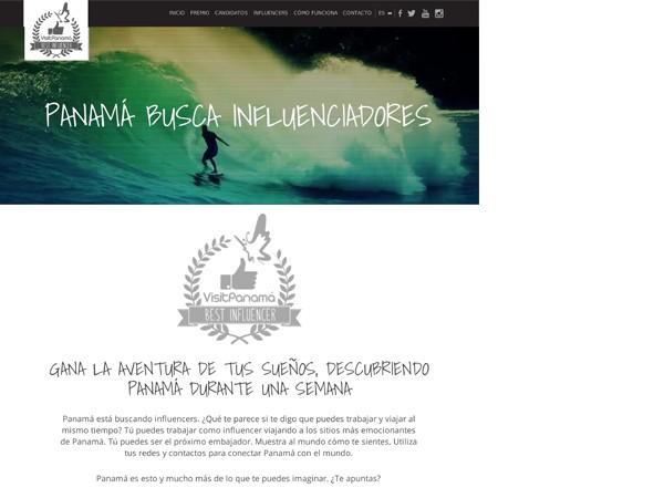 BESTINFLUENCER VISITPANAMA WEB
